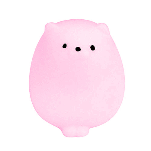Stretchy Jelly Squishy Fat Cat Pink