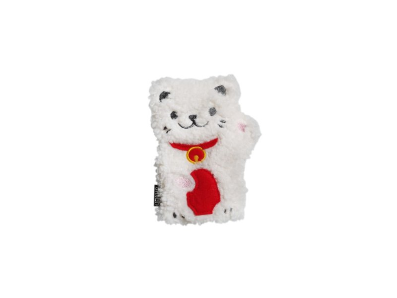 Mini Huggable Lucky Cat - microwavable plushie