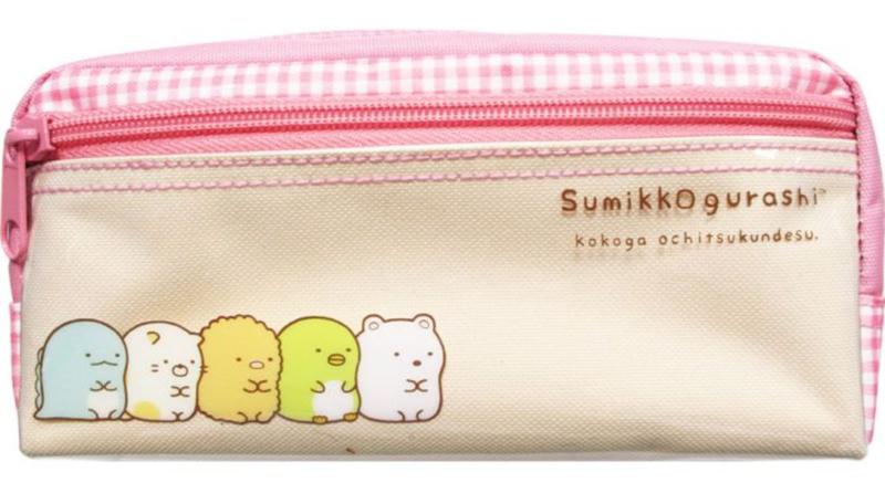 Etui San-X Sumikkogurashi Pink - big