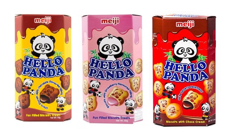 Hello Panda Cookies - 3-pack