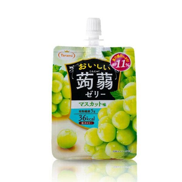 Oishii Jelly Pouch -  Muscat Traube