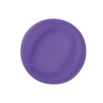 Fluffy clay- violet - air dry