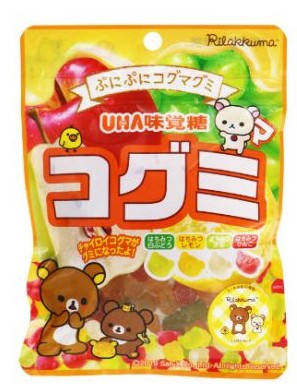 Rilakkuma Mini Bear Gummy Assorted Fruits