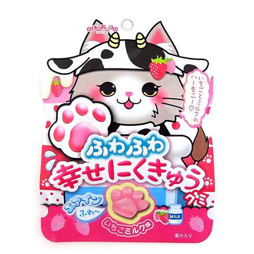 Nikukyu Strawberry Milk Gummy
