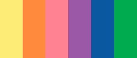 Eraser klei navulverpakking 6 kleuren