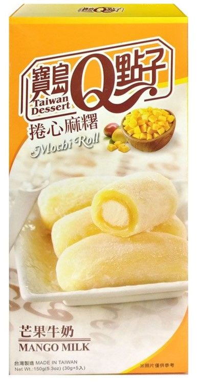 Mochi Rolls Mango Milk