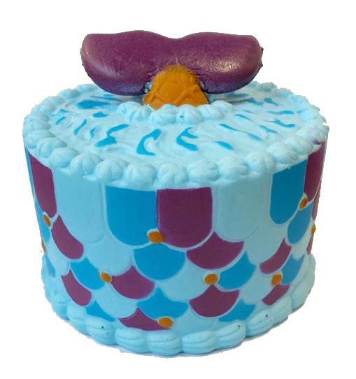 Squishy Mermaid Cake