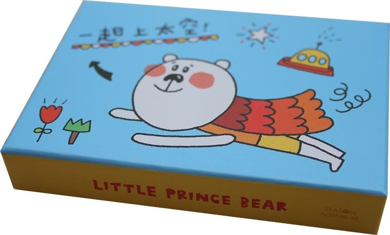 Memokaartjes in doosje - Little Prince Bear