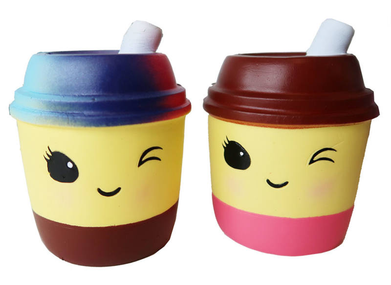 Squishy Take-Away Drink - Galaxy or Pink