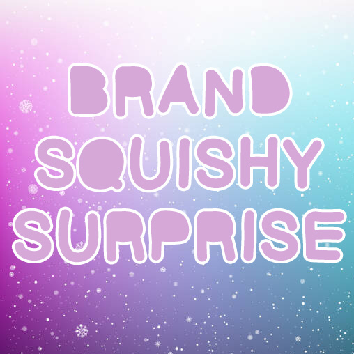 Licensed Brand Squishy Surprise - 3 x mix december 2019