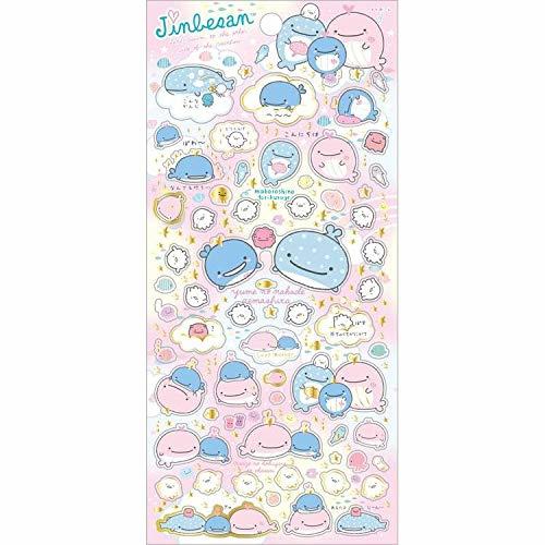 Aufkleber San-X Jinbesan Love Mother - Pink