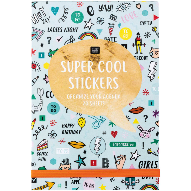 Stickerbook Super Cool Mint