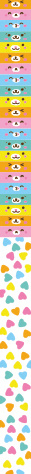 MostCutest.nl Kawaii Lucky Star Papier - Rainbow