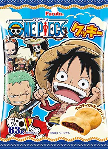 One Piece Soft Chocolate Cookies
