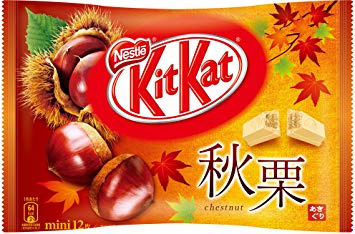 KitKat mini Autumn Chestnuts - 12 minis