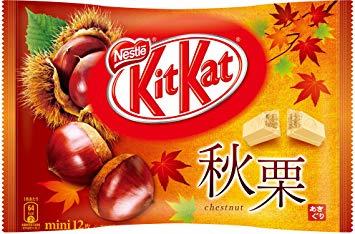 KitKat mini Autumn Chestnuts - Kastanje - zak 12 stuks