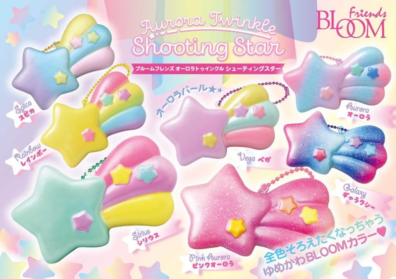 Squishy iBloom Aurora Twinkle Sternschnuppe