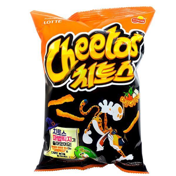 LOTTE Cheetos Hot & Sweet