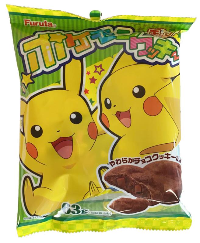 Pokémon Pikachu Soft Chocolate Cookies