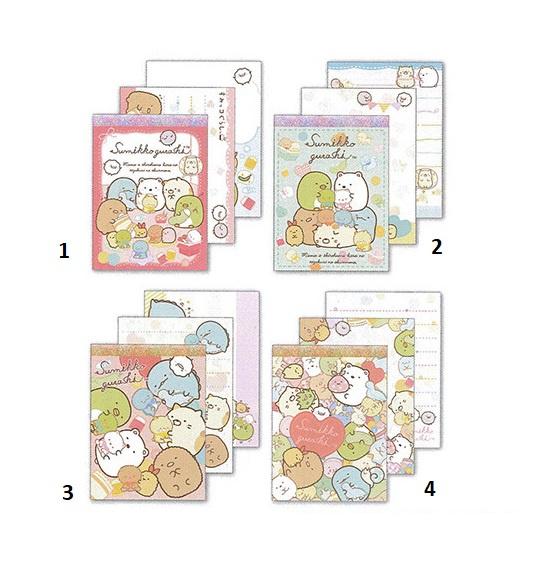 Memoblok klein Sumikkogurashi Candy Colors