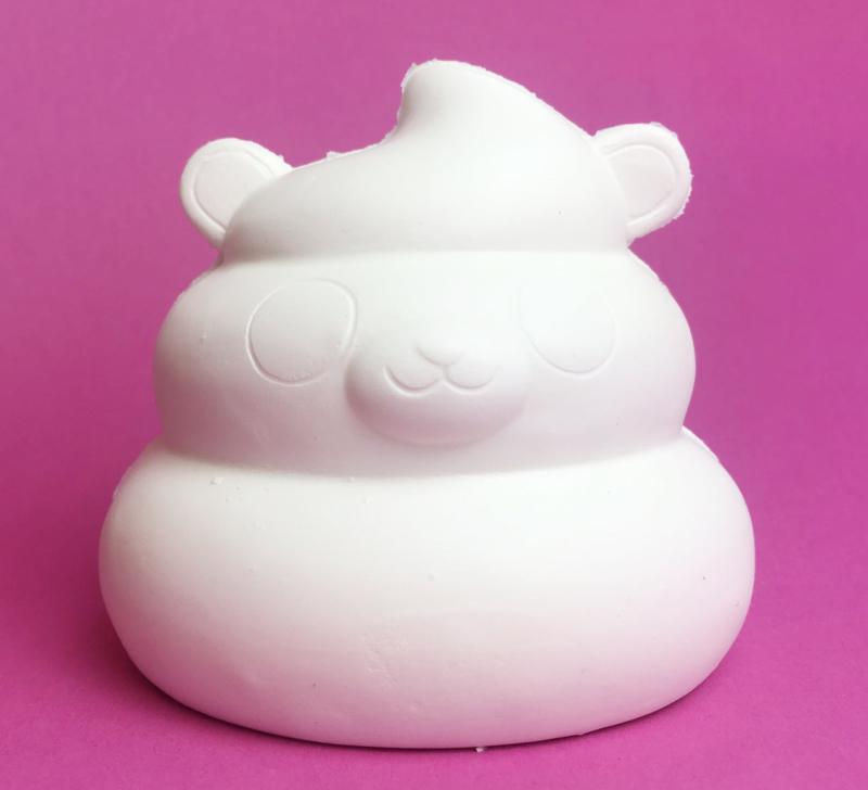 Kawaii Deco Bear Poo - DIY squishy!