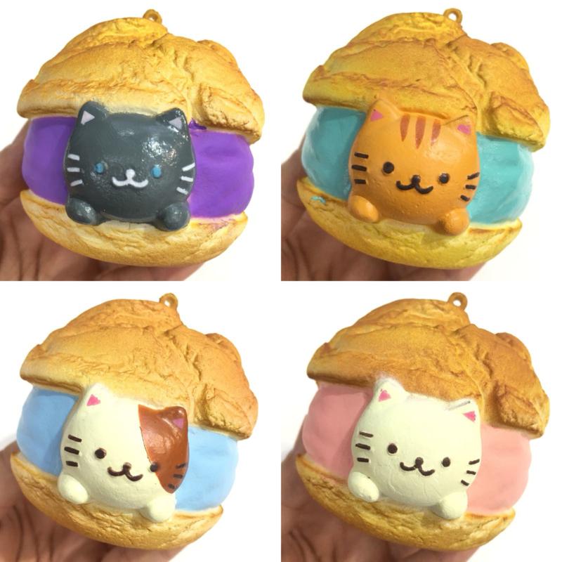 Squishy Cafe Sakura - Neko Creampuff - Pick one