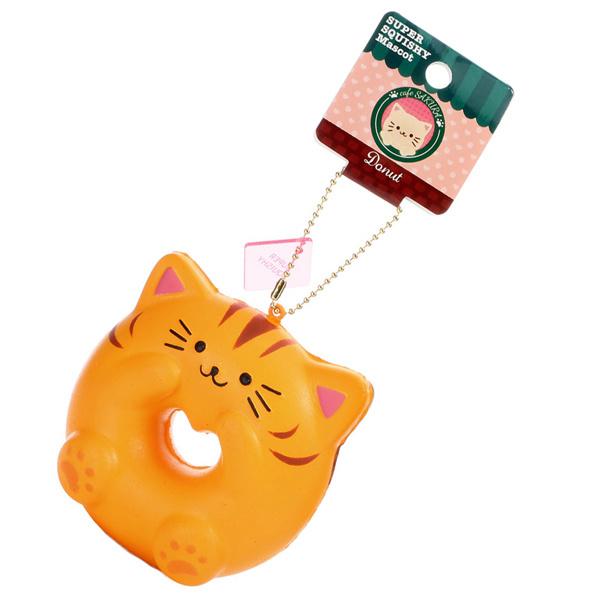 Squishy NIC Cafe Sakura - Cat Donut