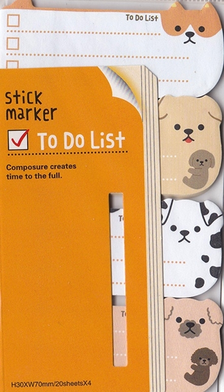 To-Do Stickies - Dogs