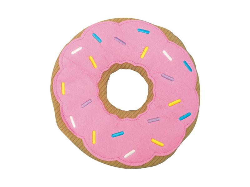 Huggable Donut - magnetron plushie