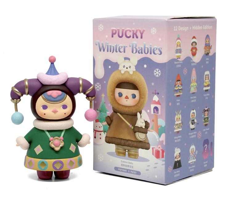 Pop Mart Collectibles Blind Box - Pop Mart X Pucky Winter Babies