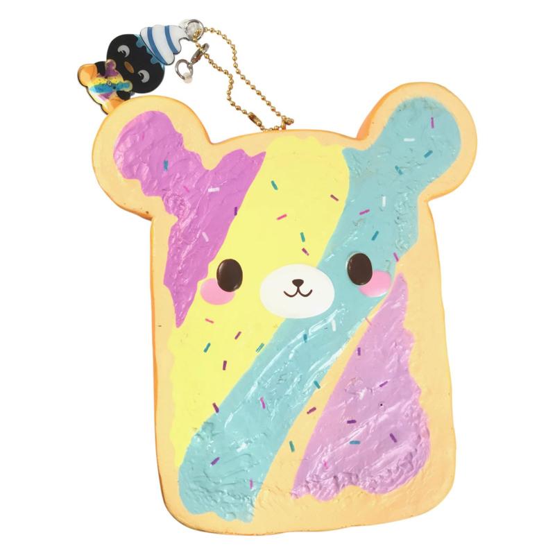 Squishy Yummiibear Rainbow Toast