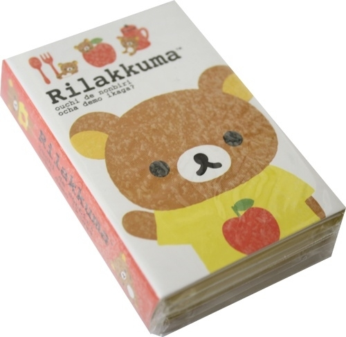 Stickynotes boekje Rilakkuma rood appel