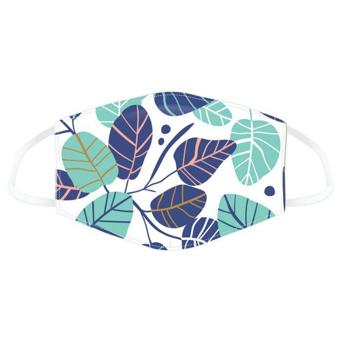 Mund-Nasen-Bedeckung - Leaves