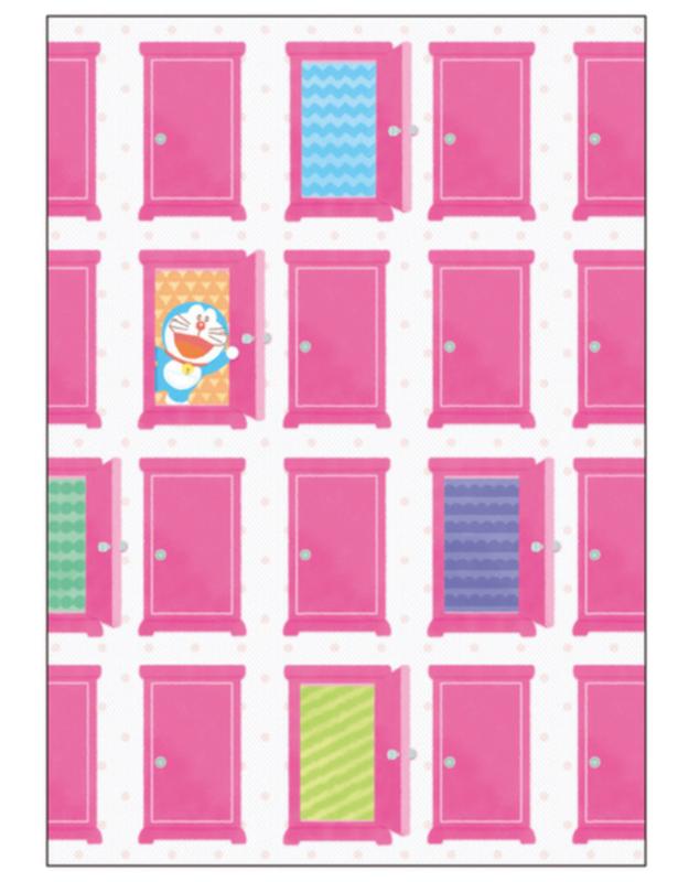 Notebook A5 Doraemon - Pink Closet DoraCan