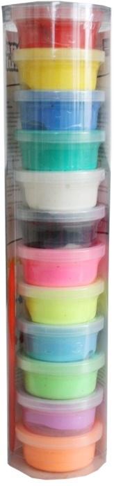 Fluffy klei - 12 kleuren - air dry