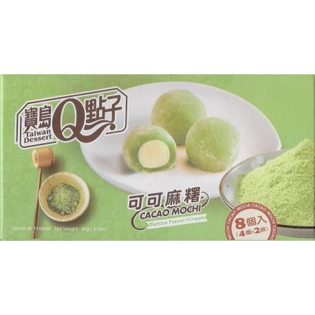 Cacao Mochi - Matcha flavour