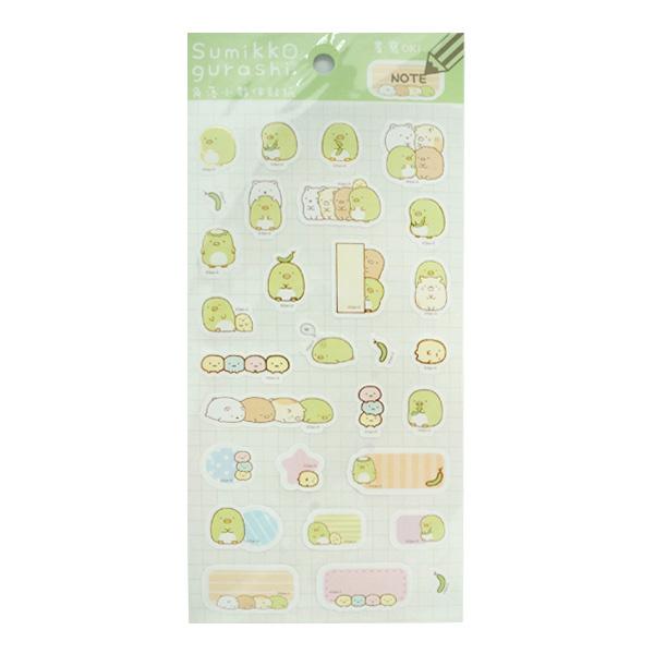Stickervel Sumikko Gurashi Notes Penguin