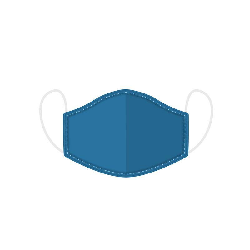 Mondkapje - Blauw