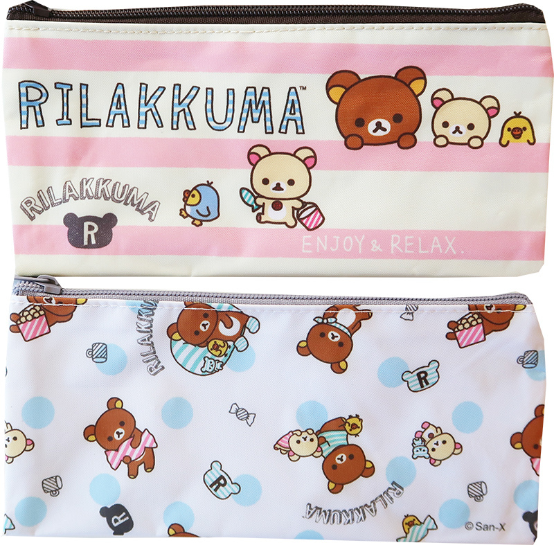 Etui Rilakkuma Stripes or Dots