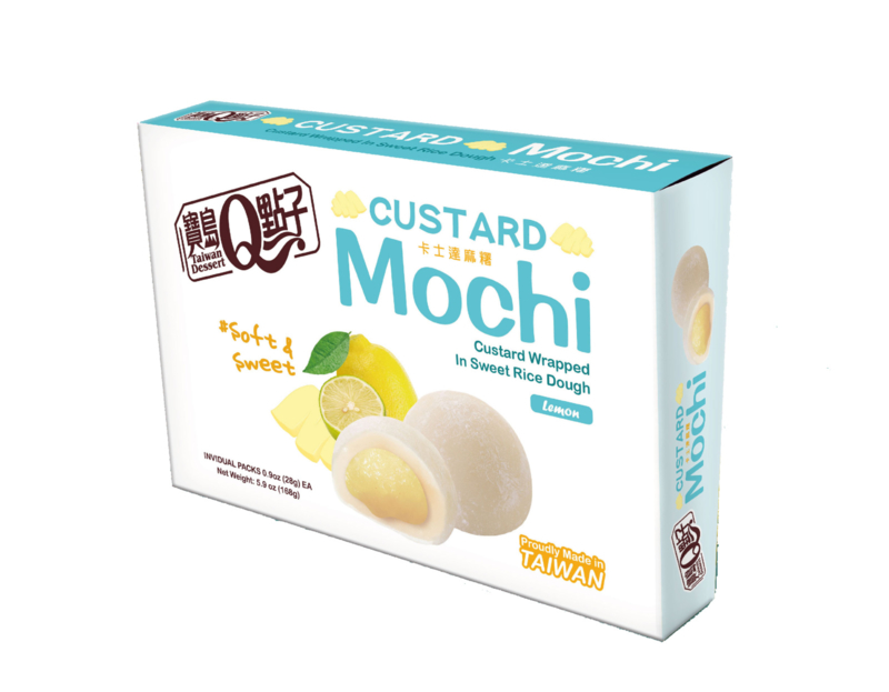 Custard Mochi Lemon Flavour