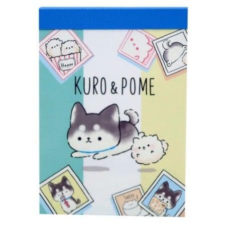 Memoblok klein Kuro & Pome