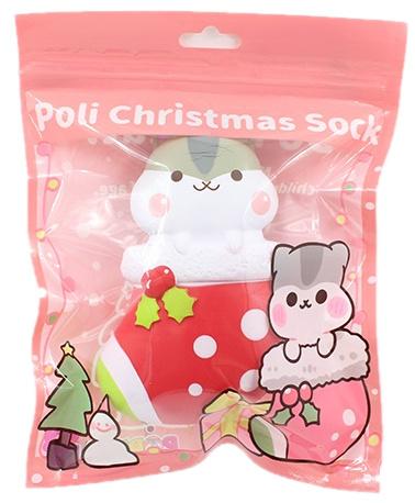 Squishy Poli Christmas Sock
