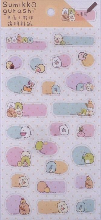 Stickersheet Sumikko Gurashi Notes Yellow