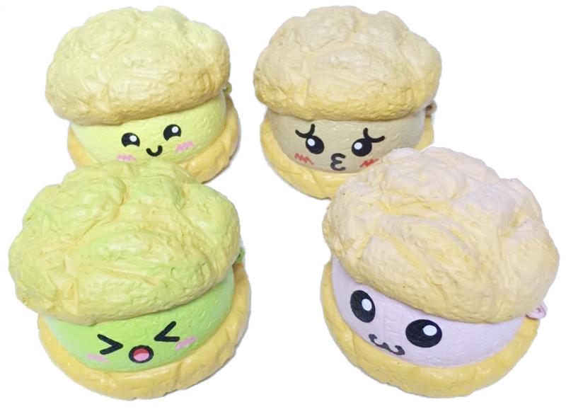 Squishy Anhänger Happy Creampuff - Handy Bügel
