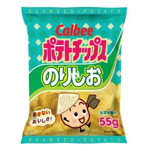 Calbee Seaweed Potato Chips