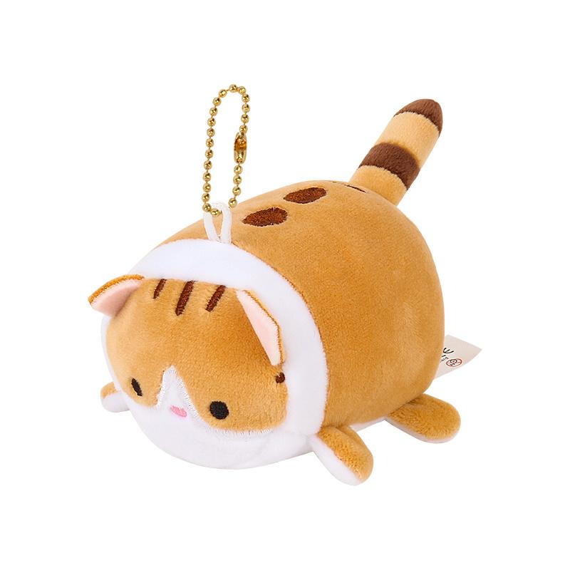 Plushie Soft Kawaii Cat - Brown