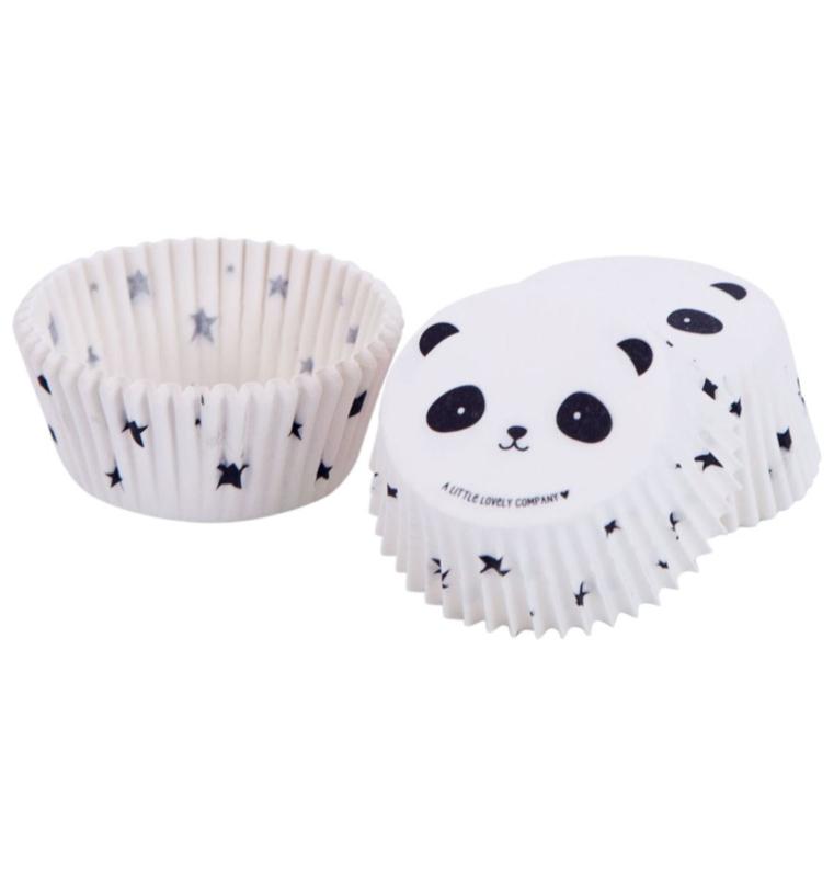 Cupcake vormpjes - panda