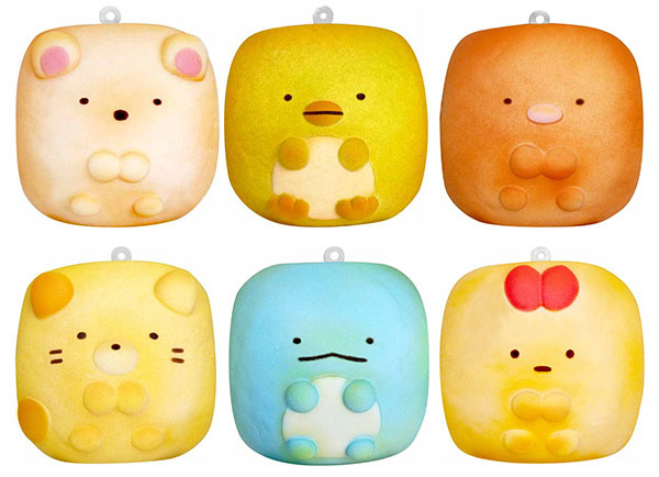 San-X Squishy Gift Box - 6 licensed squishies - Sumikkogurashi Chigiri