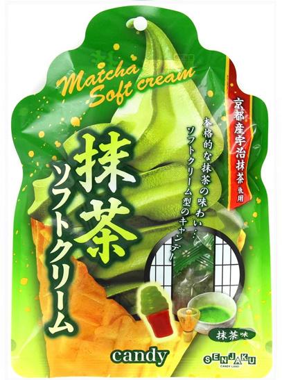 Senjaku Soft Serve Icecream Candy Matcha