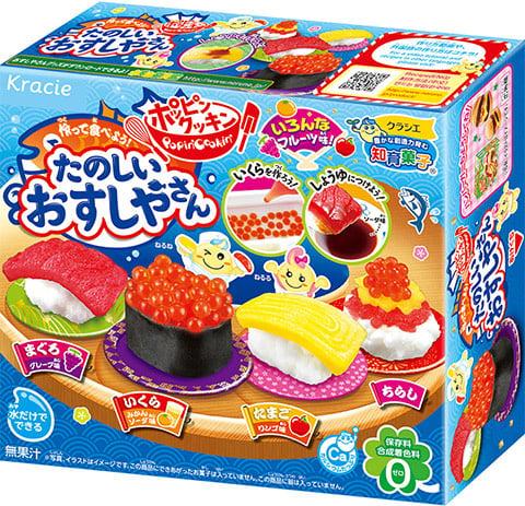 Popin Cookin Sushi Candy   DIY Japanischen Süßigkeiten